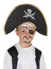 Childs' Pirate Captain Hat